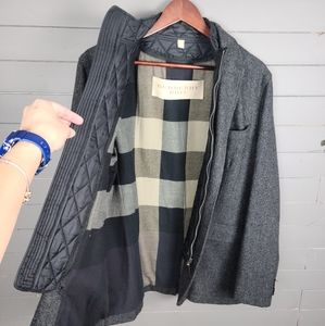 Burberry Brit 100% Wool Casual Jacket